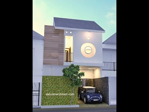 Desain rumah mungil di lahan 6x8m2 & Desain rumah mungil di lahan 6x8m2 - YouTube