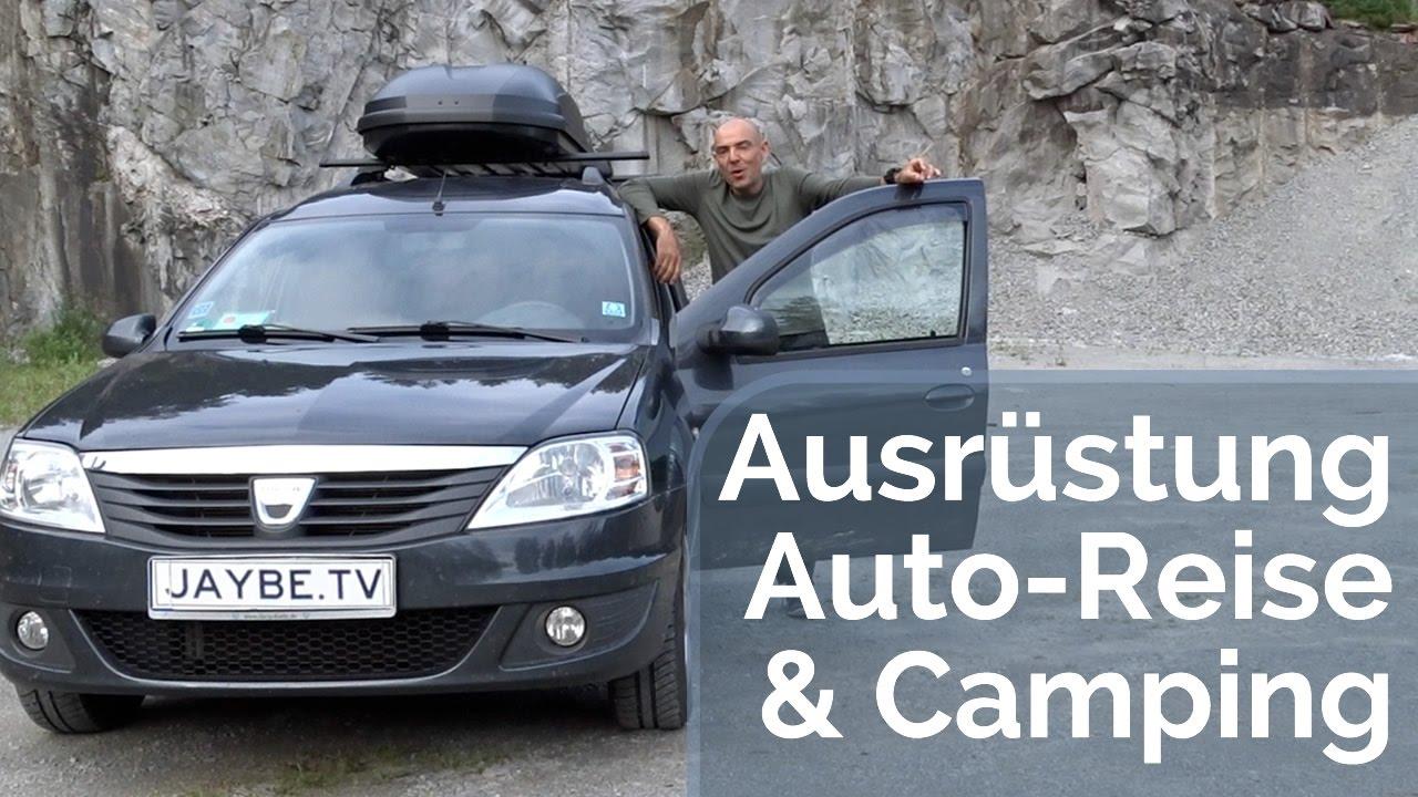 Auto Camping Reise Ausrüstung & Checkliste für 4 Wochen Norwegen + Erfahrungen