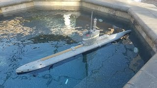 Bronco German Type XXIII R/C submarine