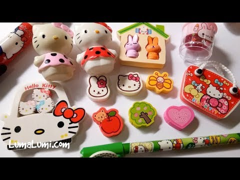 Hello Kitty Unboxing Toy and Hello Kitty Coloring Book with
