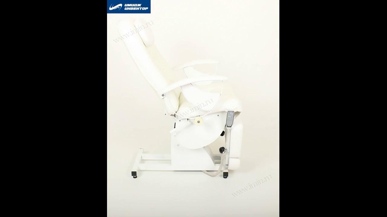 Электрическое педикюрное кресло LORD-I - YouTube