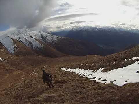 Hiking the Chugach mountains in Alaska