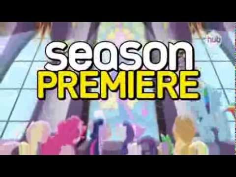 My Little Pony Friendship is Magic Premiere Day (Promo) - Hub Network