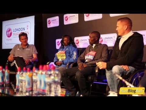 2017 London Marathon Closing Press Conference