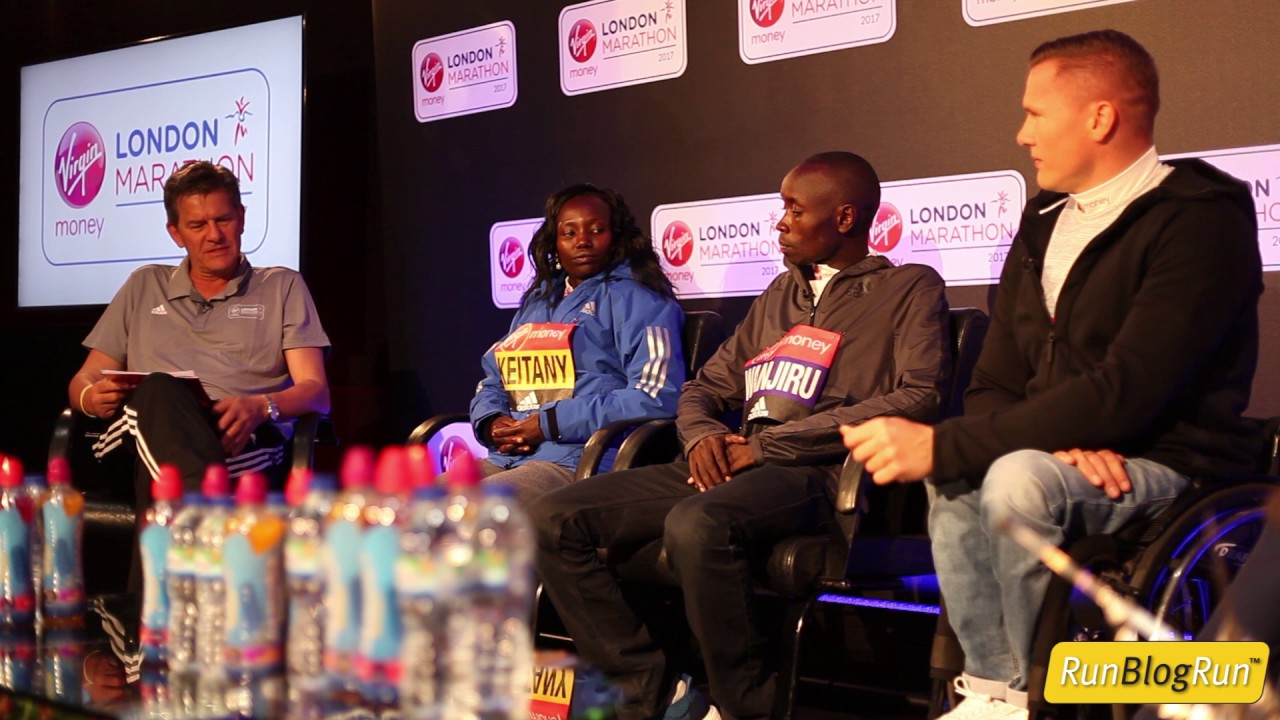2017 London Marathon Closing Press Conference