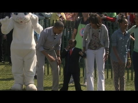 Kid President Helps Launch White House Easter Egg Roll 2013 With President, Michelle Obama