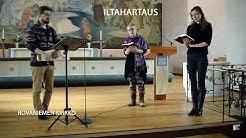 2020-04-15 Iltahartaus Rovaniemen kirkossa