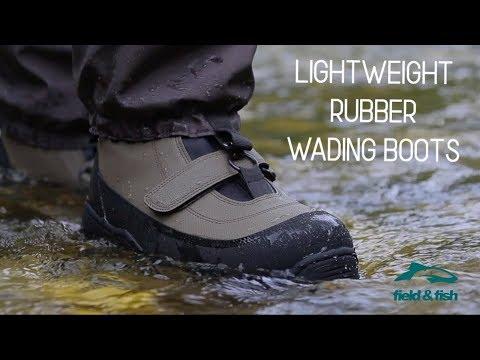 Lightweight Rubber Wading Boots - Field & Fish