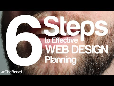 6 Steps to Effective Web Design Planning