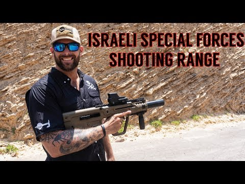 Shooting Israeli Special Forces Weapons: Suppressed IWI X-95 Tavor