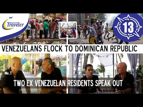 Venezuelans flocking to Dominican Republic Two men speak out on Venezuela chaos