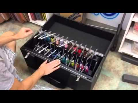The Battery Mobile Airbrush Workstation  YouTube