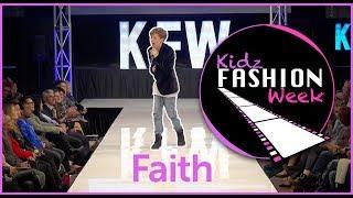 Kidz Fashion Week 2k17 closing performance - Faith - Joshua Richards