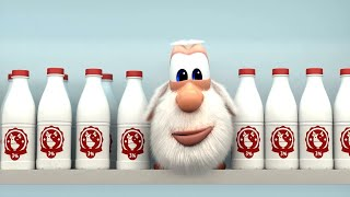 Booba 🍲 Bon Appetit 🍔🍜🍢🍕 Food episodes compilation - Funny cartoons for kids - Booba ToonsTV