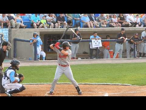 DBacks Prospect Brandon Drury Double 2014 ASG HD