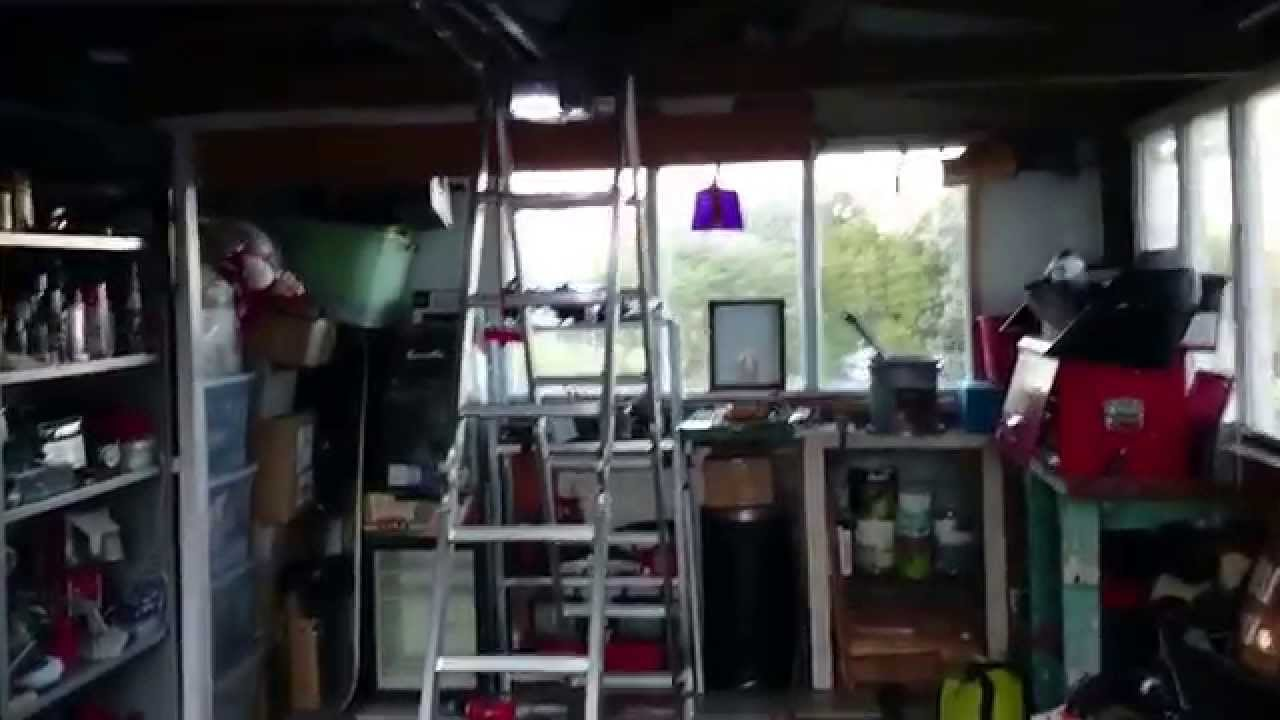 Garage Door Opener Installed Solar Powered Youtube