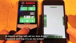 "video 252 - Bosch ""PLR50""  vs ""PLR 50 C"" - Touch and connected"