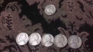 Coin Roll Hunt #2 - A Buffalo Nickel