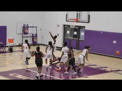 2018 College Park Academy vs North CMIT Girls Playoff Basketball Game - 2/27