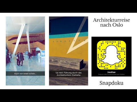 Auf nach Oslo mit der Initiative Architektur #snapdoku