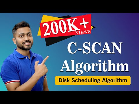 C-SCAN Algorithm in Disk scheduling with Example | Operating System