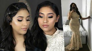 GRWM: Sisters Wedding/ Bridesmaid Makeup Tutorial