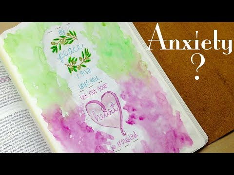 Bible Journaling: Battling Anxiety
