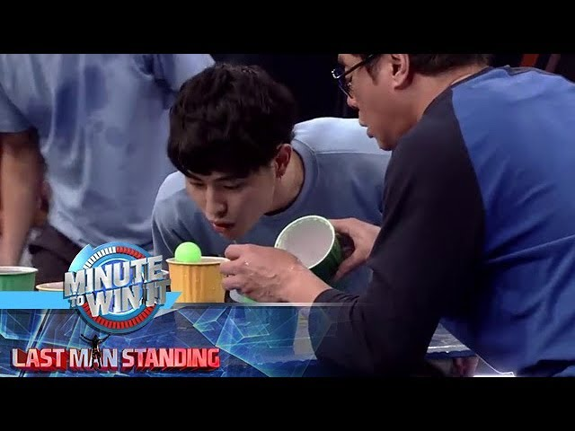 Blow Jump | Minute To Win It - Last Man Standing
