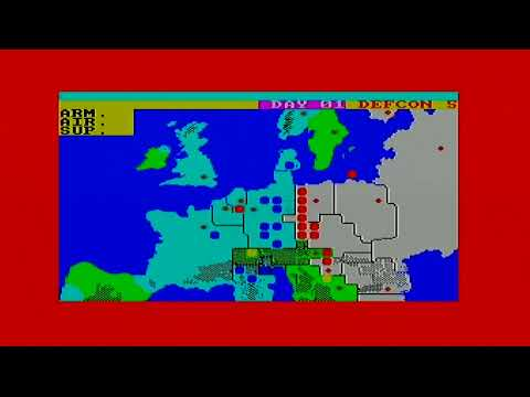 ZX Spectrum Vega Games - Theatre Europe