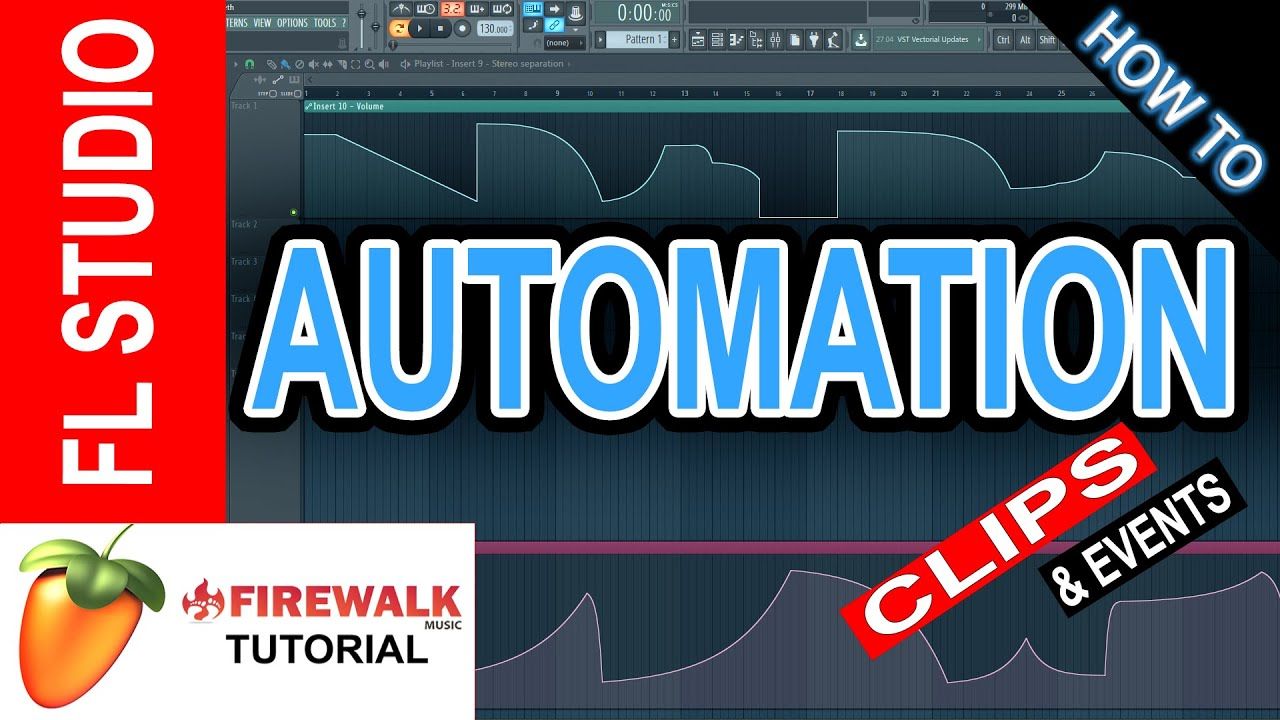 how to make a volume automation clip in fl studio