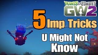 5 Imp Tricks *Easy* Pląnts vs Zombies Garden Warfare 2