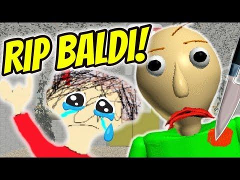 I KILLED BALDI AND PLAYTIME IS MAD! | Baldi Dies | Baldi's
