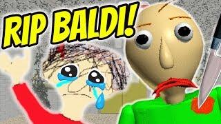 I KILLED BALDI AND PLAYTIME IS MAD! | Baldi Dies | Baldi's Basics Mod