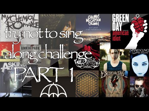 Emo Try Not To Sing Along Challenge