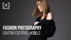 Fashion Photography Lighting for Editorial Models