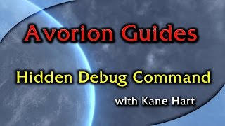 Avorion Guides - Hidden Debug Command That Brings Up Debug Panel!