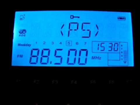 FM-Es: Libya FM 88.5 MHz Benghazi, Libya 2011-07-15