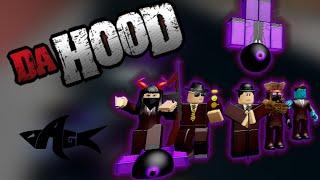 Roblox (Da Hood) - WE STARTED A GANG WAR WITH ONE SHOT