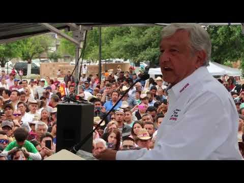 Mensaje AMLO desde Piedras Negras, Coahuila