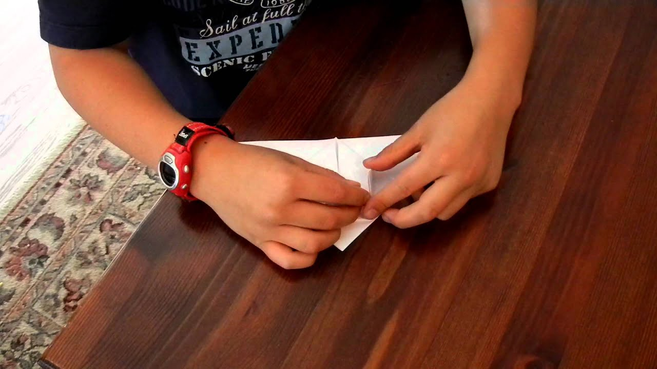 How to make an origami inflatable ball! - YouTube - photo#9