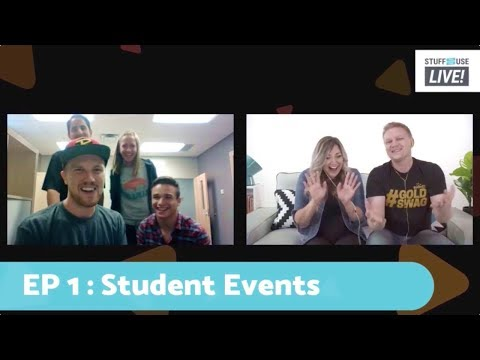 Events For Students in Youth Ministry: SYCU LIVE! EP 1