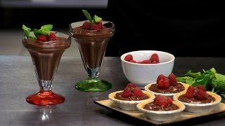 Tofu Recipes - Tofu Chocolate Pudding Pie