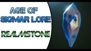 Age of Sigmar Lore: Realmstone