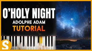 "How to play ""O Holy Night"" Christmas Music by Adolphe Adam 