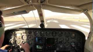 Cessna 340 Flight - Superstition Mountains & Saguaro Lake Arizona
