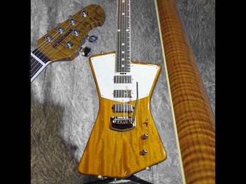 St Vincent Light Trans Gold BFR #3/21 Ernie Ball Music Man Ball Family Reserve Guitar