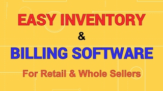... by using easy inventory management software you can track the available stock in your com...