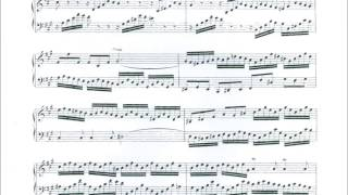 J. S. Bach 2 Pt Invention No 12 BWV 783