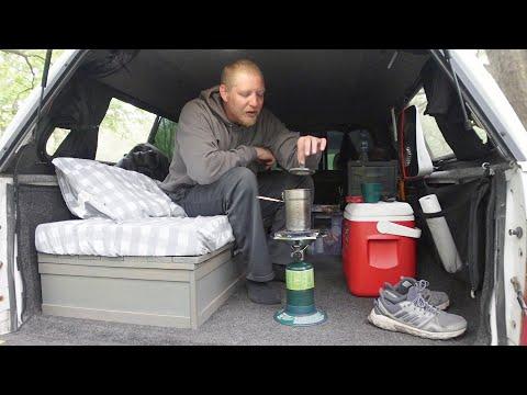Truck Camping - Exploring Ponca State Park - Nebraska