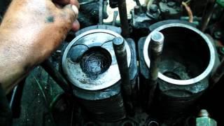 Т-25 -опять ремонт мотора.